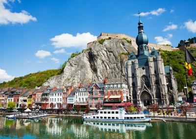 Journée à  Namur: visite de Nathalie