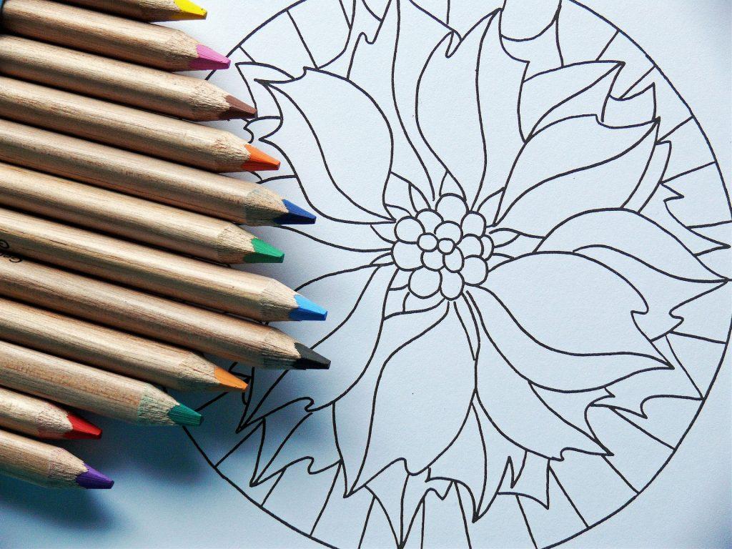 atelier dtente croquis coloriage mandala - Coloriage Dtente