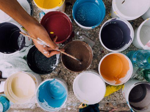 activité peinture pour les enfants- Janvier 2019